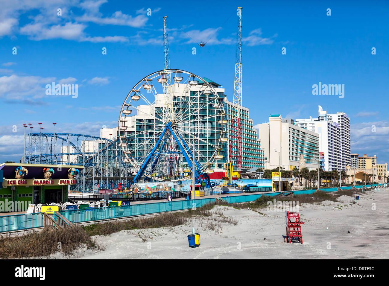 Daytona Beach Florida Boardwalk Hotels