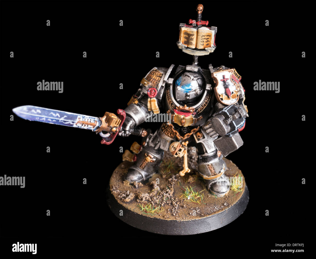 Games workshop colorado - Grey Knight Terminator Games Workshop Hand Painted Warhammer 40 000 Miniature Figure Stock Image