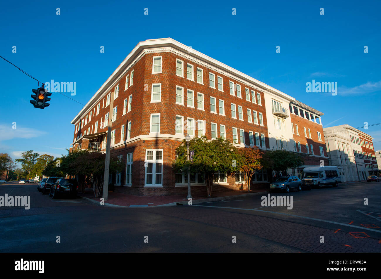 Stock photo usa mississippi ms miss greenwood luxury hotel the alluvian hotel owned by the viking range company upscale fine exterior