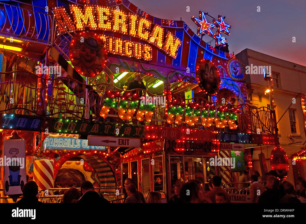 The mop fair visits stratford upon avon in october with for The stratford