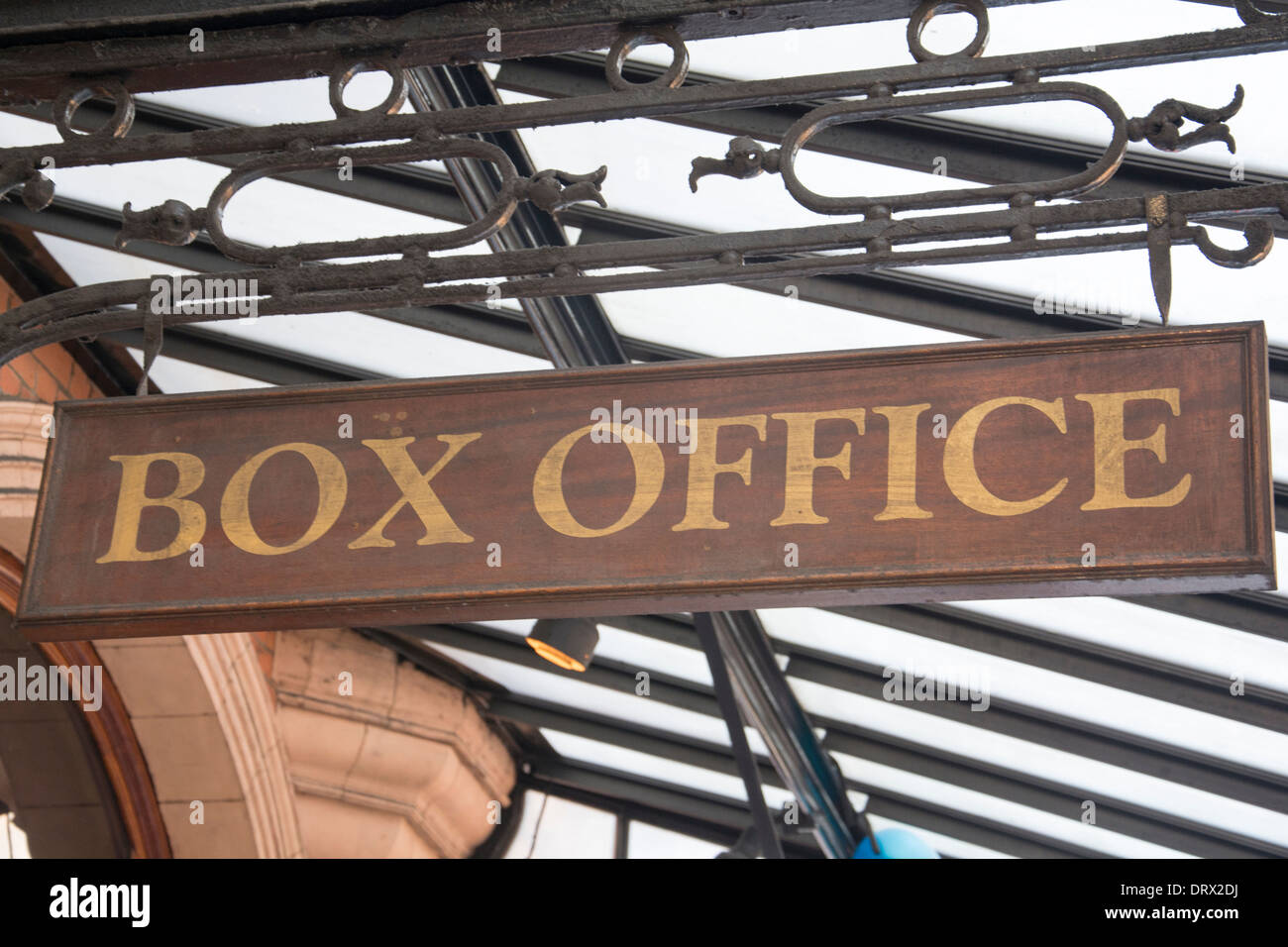 outside the box office. A Box Office Sign Outside The Palace Theatre In London\u0027s West End