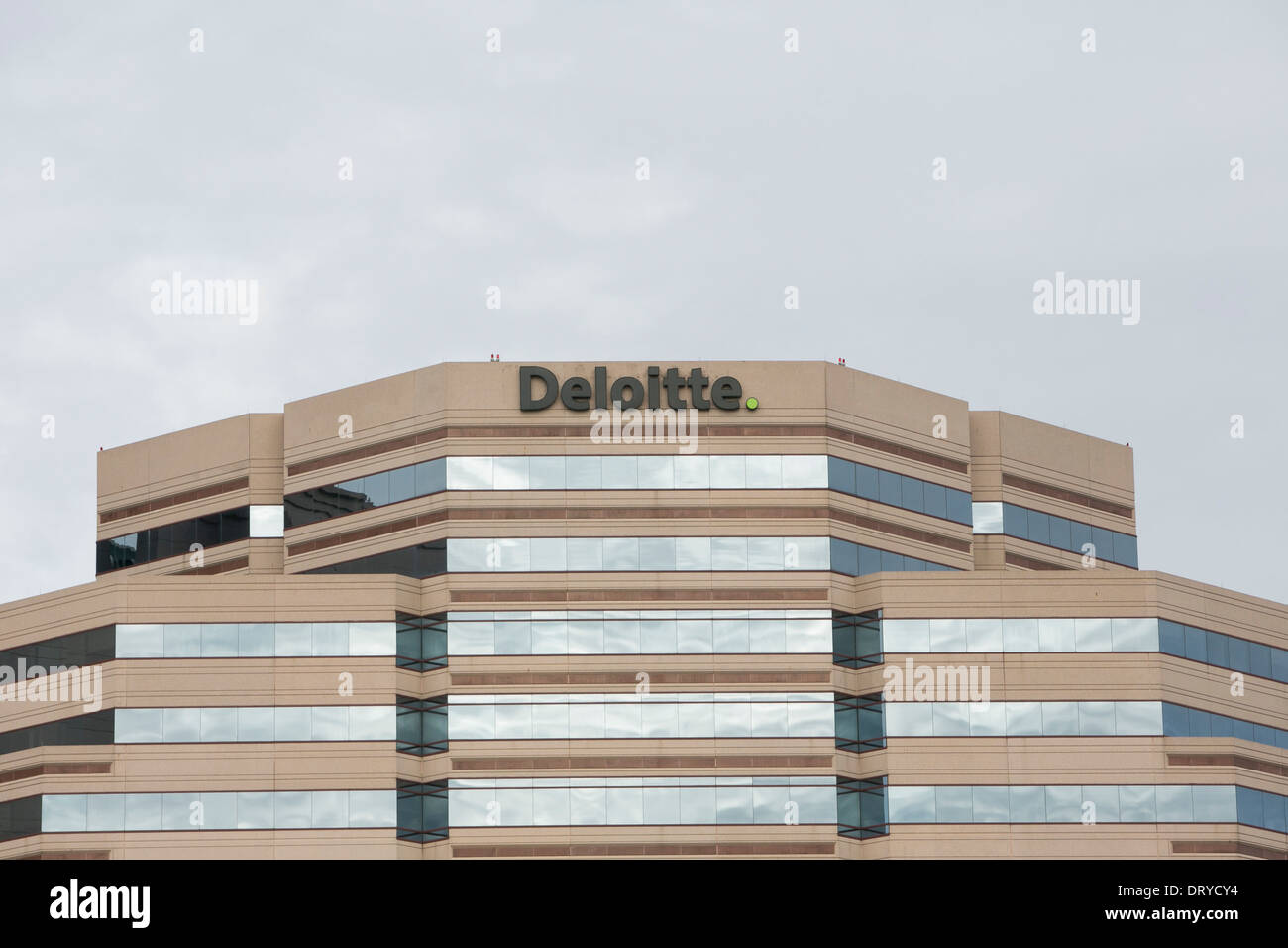 an office building occupied by deloitte in tysons corner virginia building an office