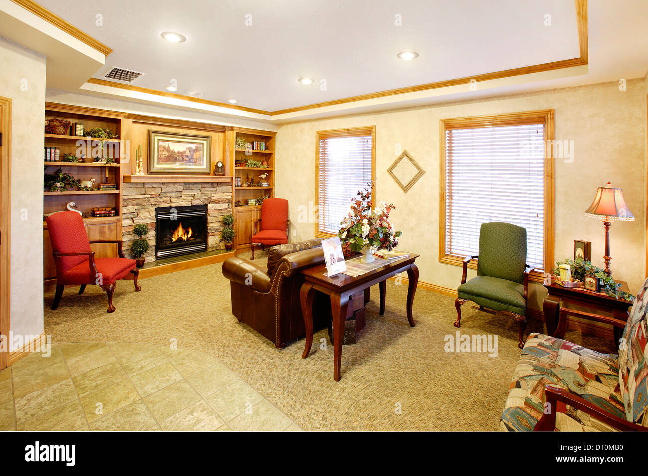 stock photo the waiting room in a modern professional doctoru0027s office doctors