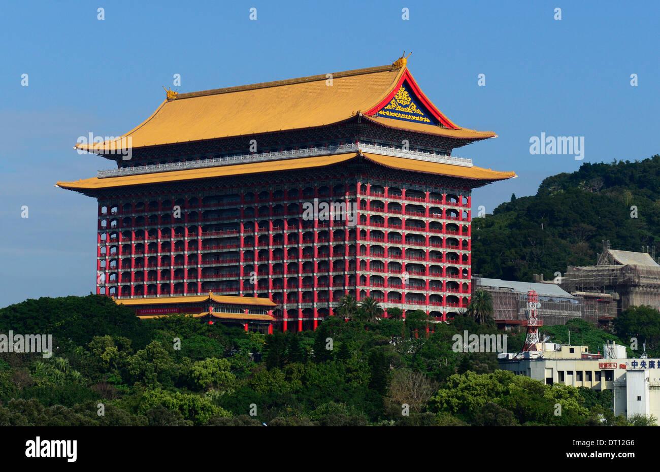 The Grand Hotel In Taipei Taiwan