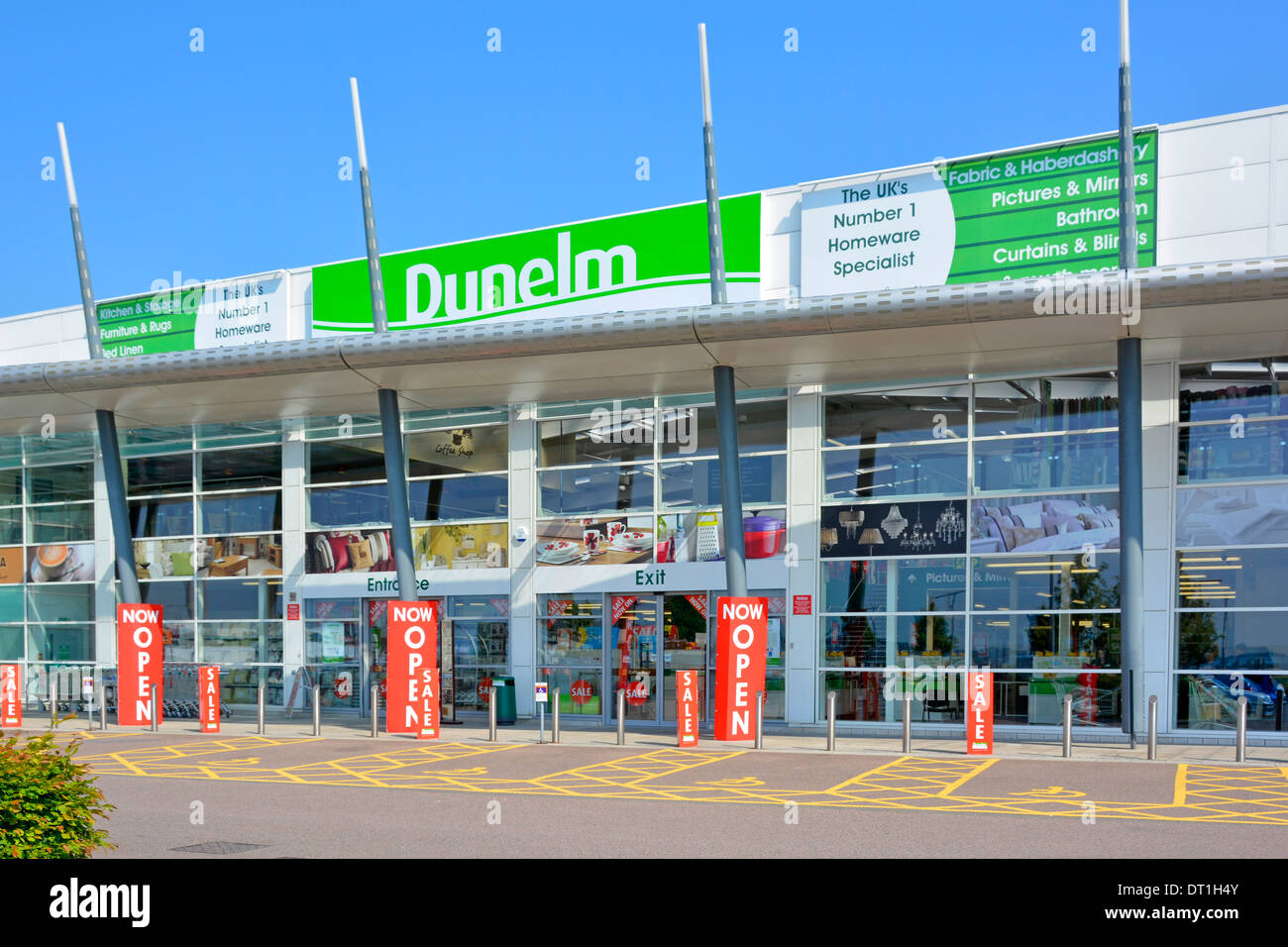 Dunelm Mill Kitchen Curtains Dunelm Mill Home Furnishings Retail Store Main Entrance With