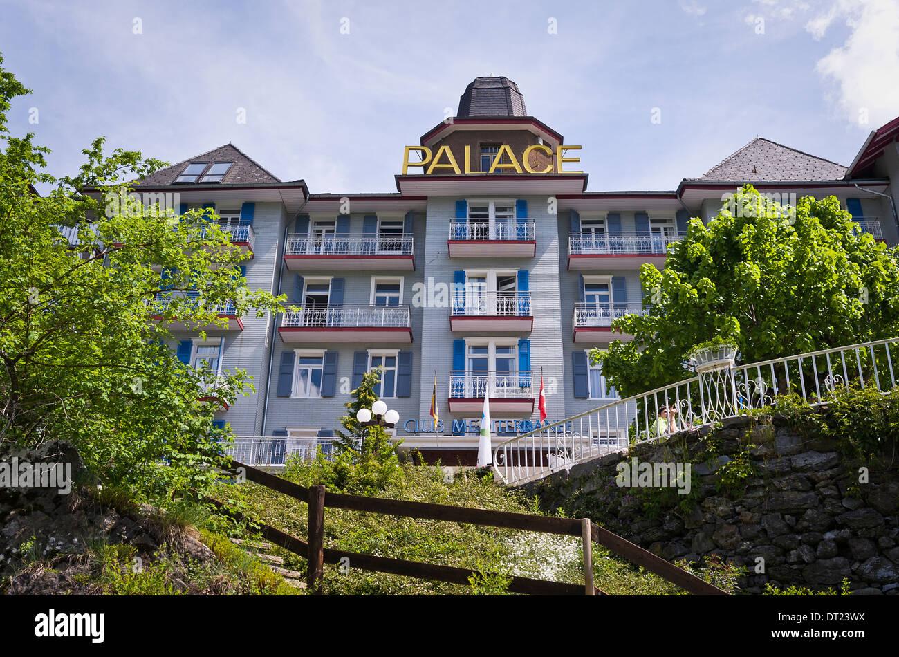 Wengen switzerland palace hotel images for Hotel palace