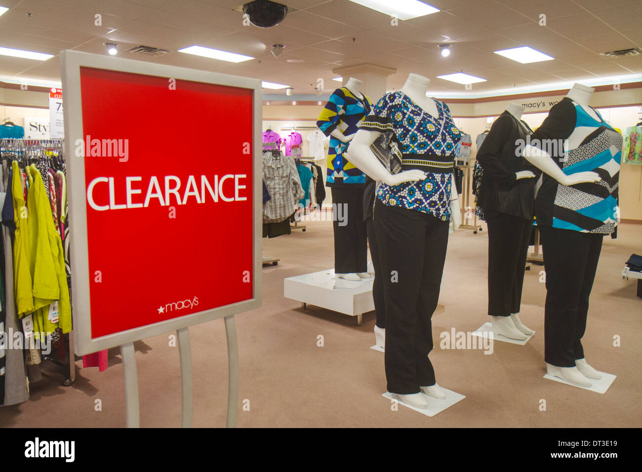 Macys Store Royalty Free Stock Images