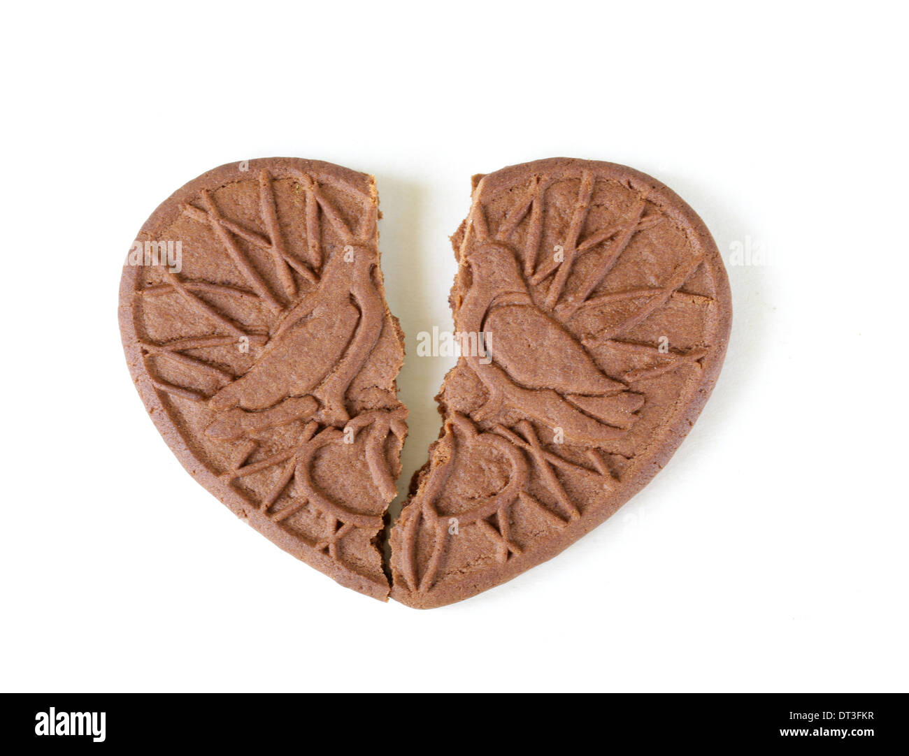 Broken heart cookies on a white background a symbol of divorce broken heart cookies on a white background a symbol of divorce buycottarizona