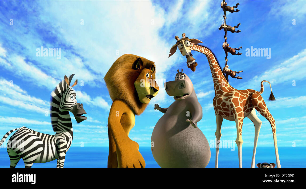 Madagascar 3 Europe'-s Most Wanted 3D 2012 1080p Blu-Ray - Dhaka Movie
