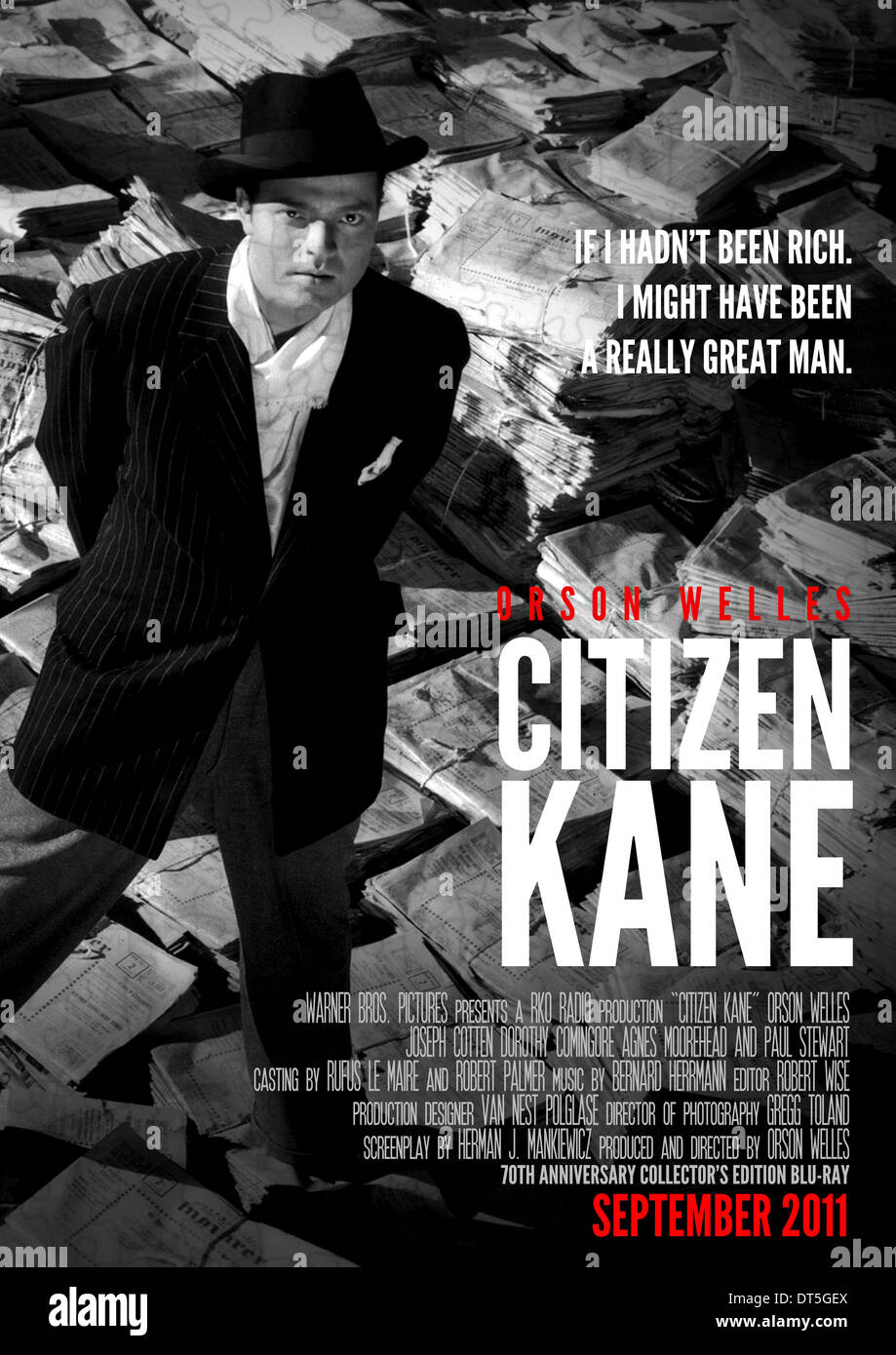 a review of the movie citizen kane by orson welles When you think about orson welles (and most of us film buffs do regularly think  about  collapsing in on itself after the early genius of citizen kane  instead,  review the roles that he played in films directed by those who did.