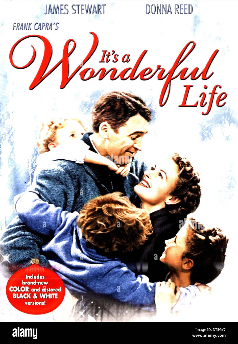 James Stewart Donna Reed Poster It 39 S A Wonderful Life 1946 Stock Photo Royalty Free Image