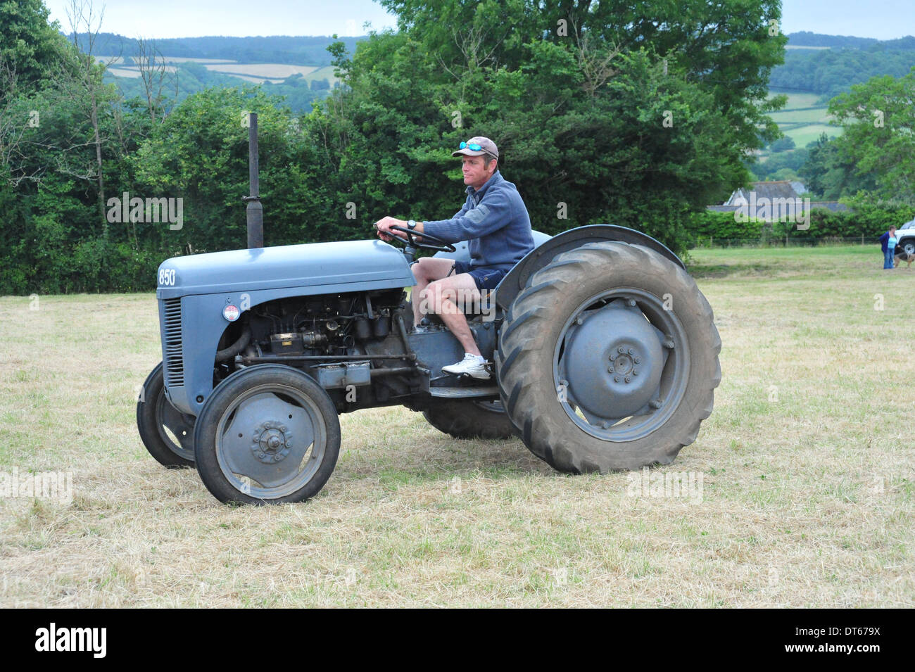 Ford 9n Mower : Ford n tractor stock photo royalty free image