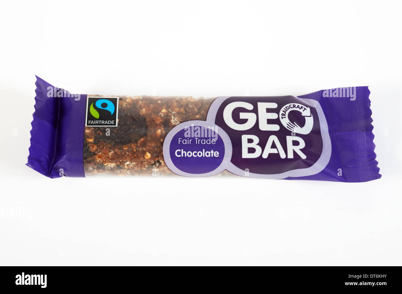 Tradecraft Fair trade chocolate Geo bar Stock Photo, Royalty Free ...
