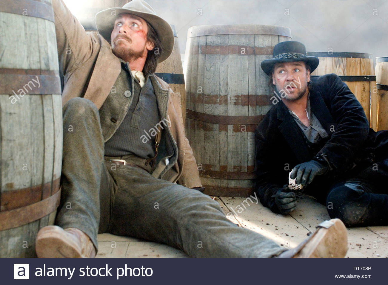 CHRISTIAN BALE & RUSSELL CROWE 3:10 TO YUMA (2007 Stock ...