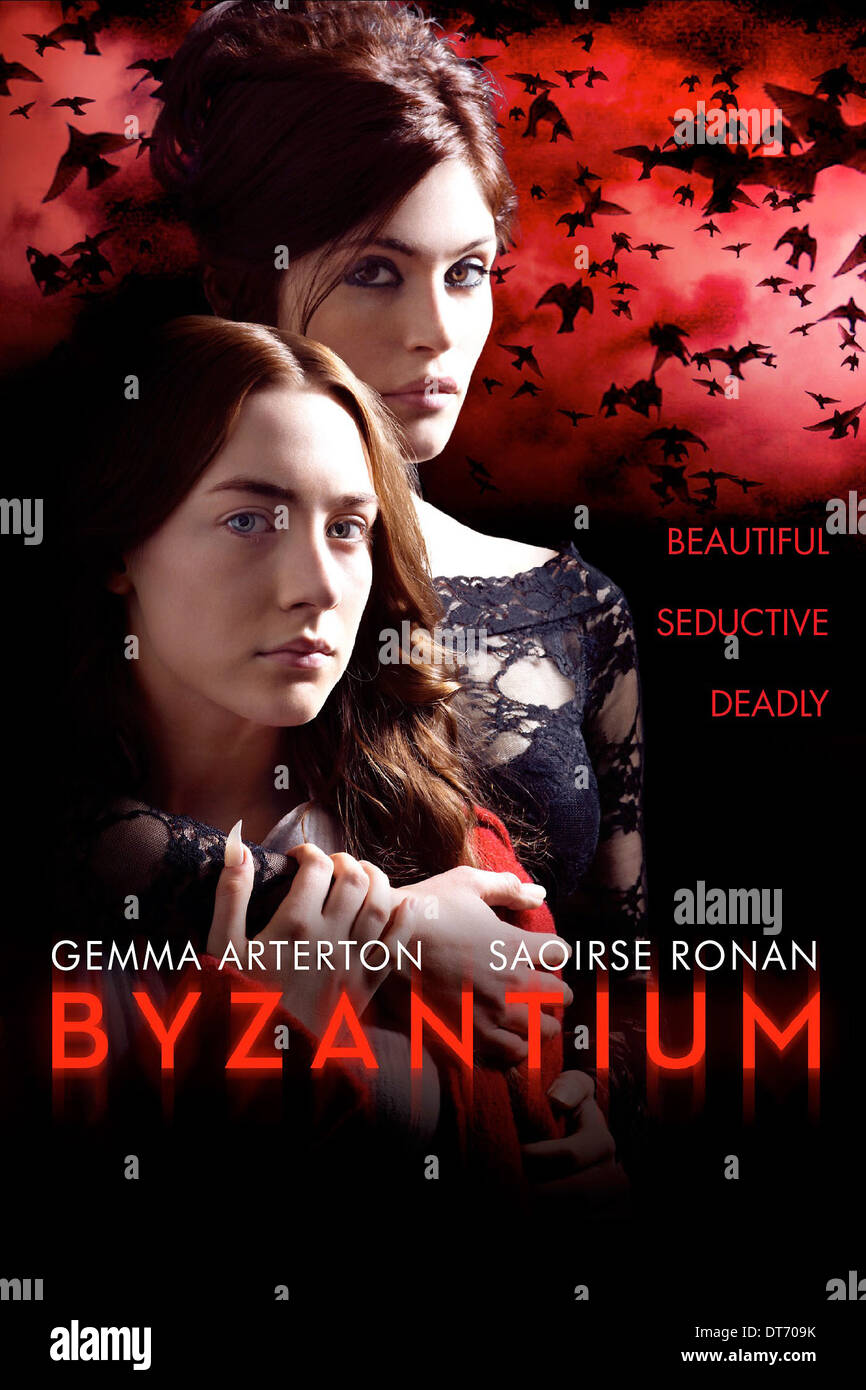 movie poster byzantium 2012 stock photo royalty free