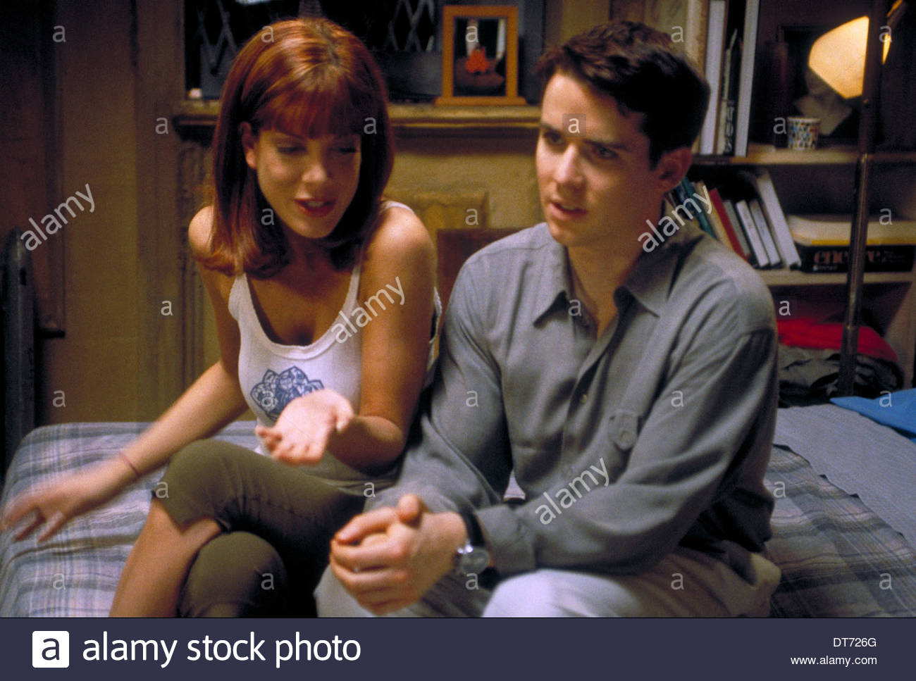 tori spelling amp christian campbell trick 1999 stock photo