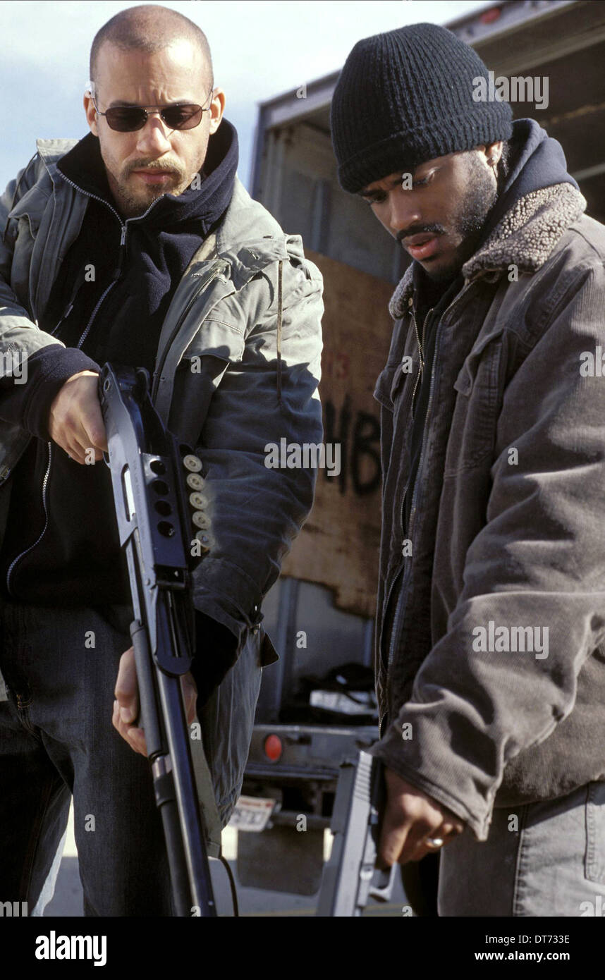 VIN DIESEL & LARENZ TATE A MAN APART (2003 Stock Photo ...