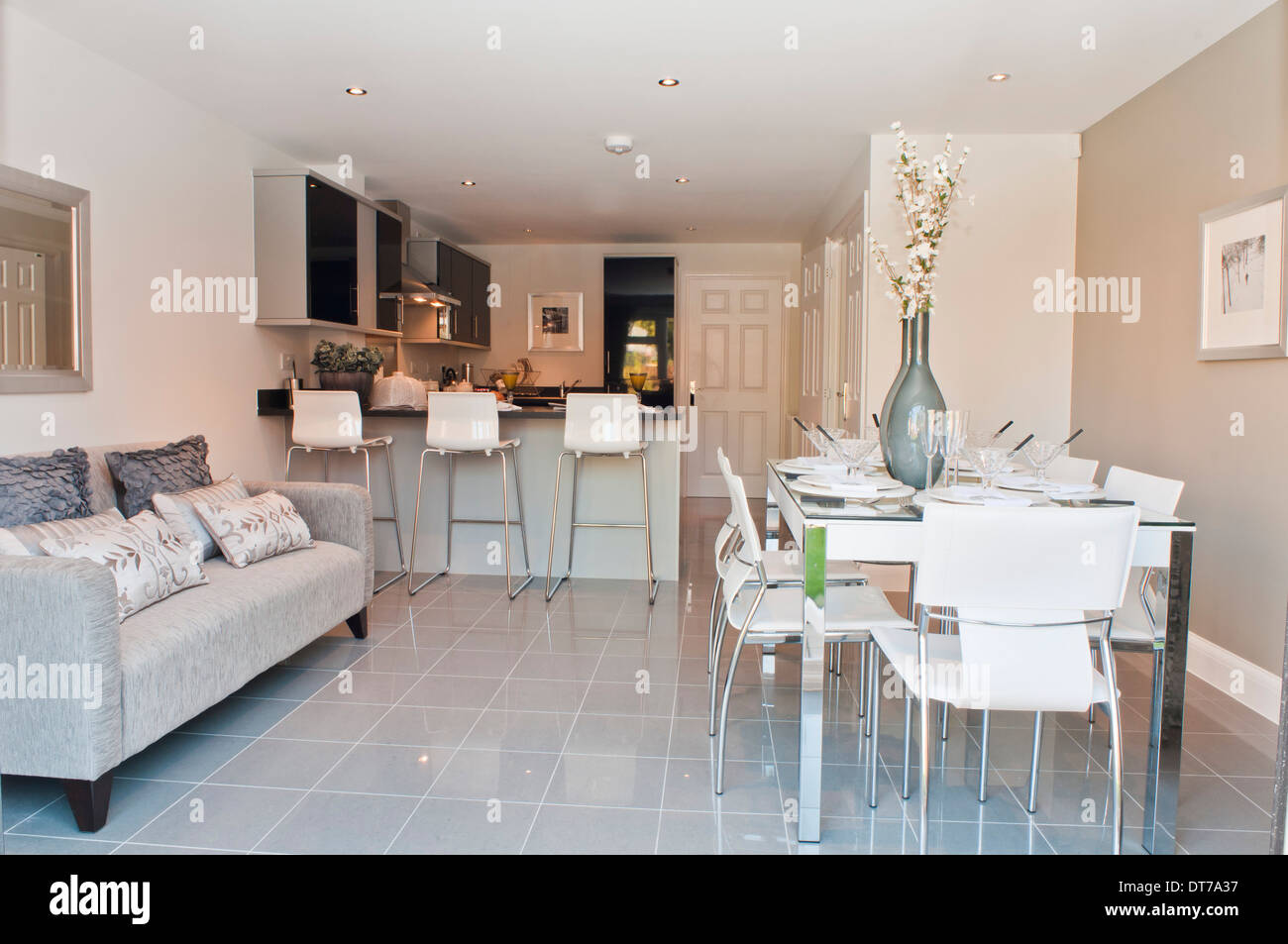 show home kitchen diner with sofa - Sofas For Kitchen Diner