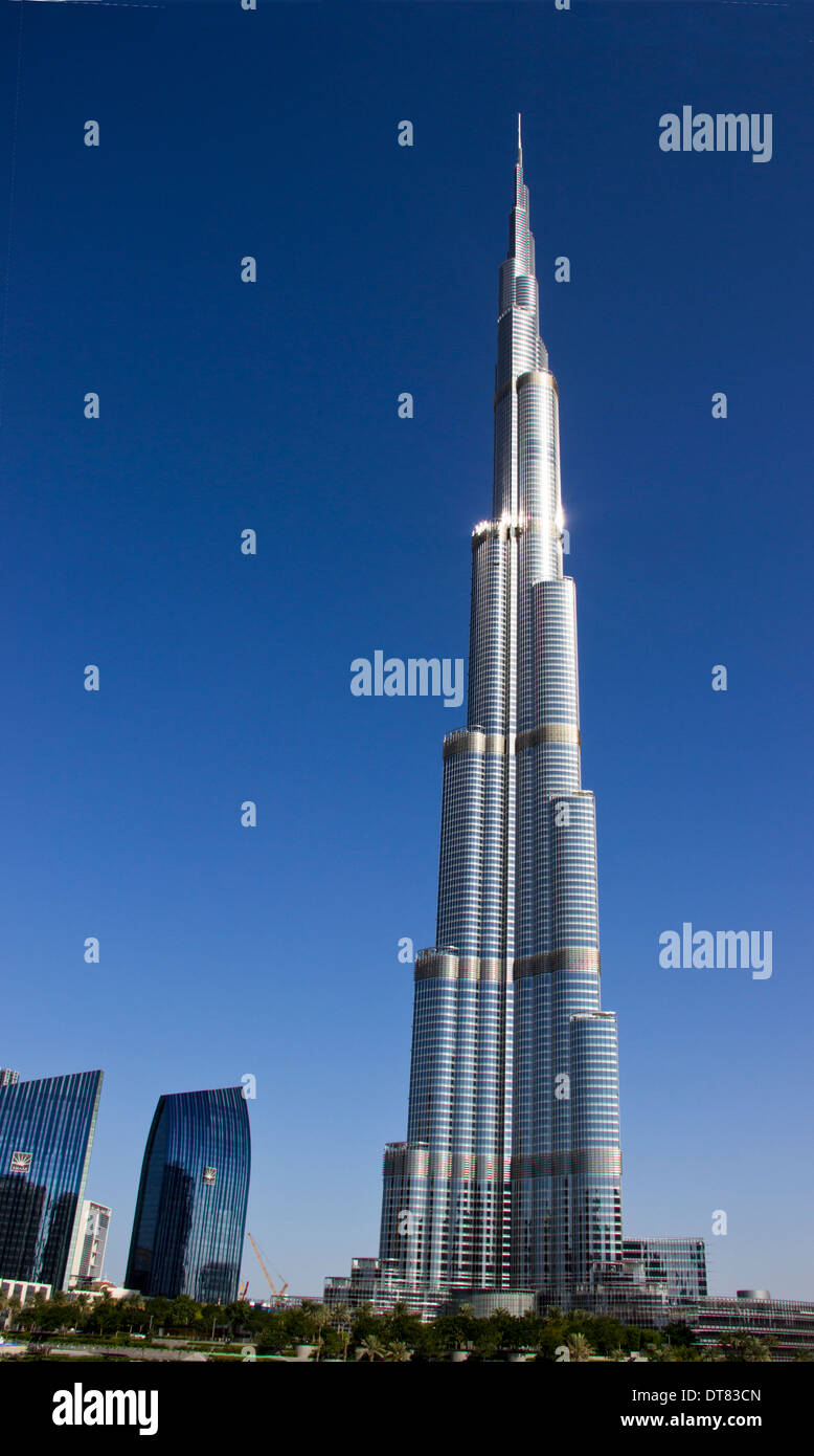 Burg Kalifa Building Dubai Uae Stock Photo Royalty Free Image 66561173 Alamy