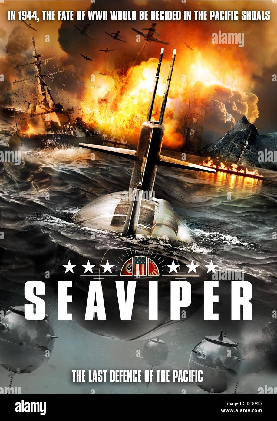 MOVIE POSTER SEA VIPER; USS SEAVIPER (2012 Stock Photo ...