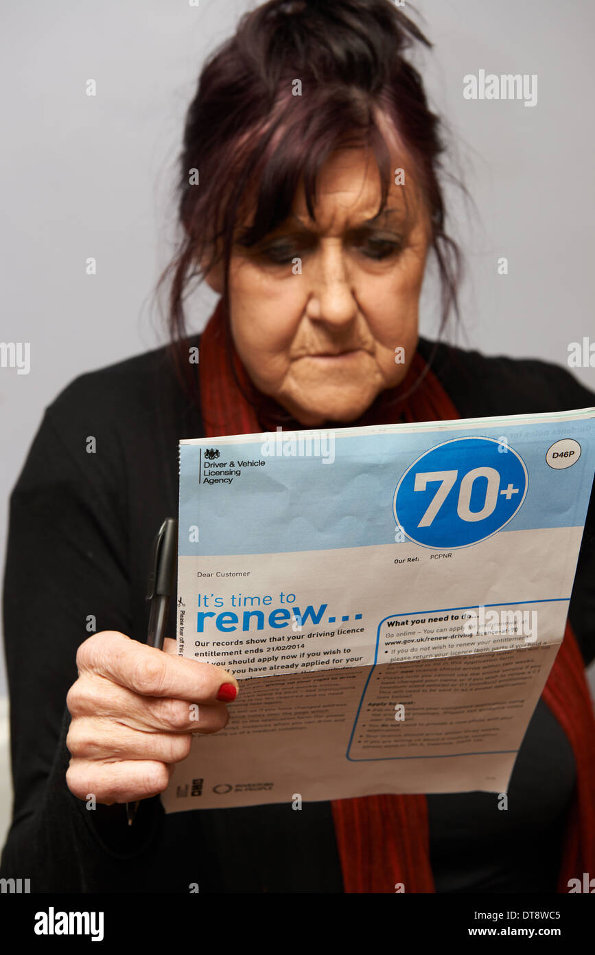 www gov uk renew driving licence at 70 official site
