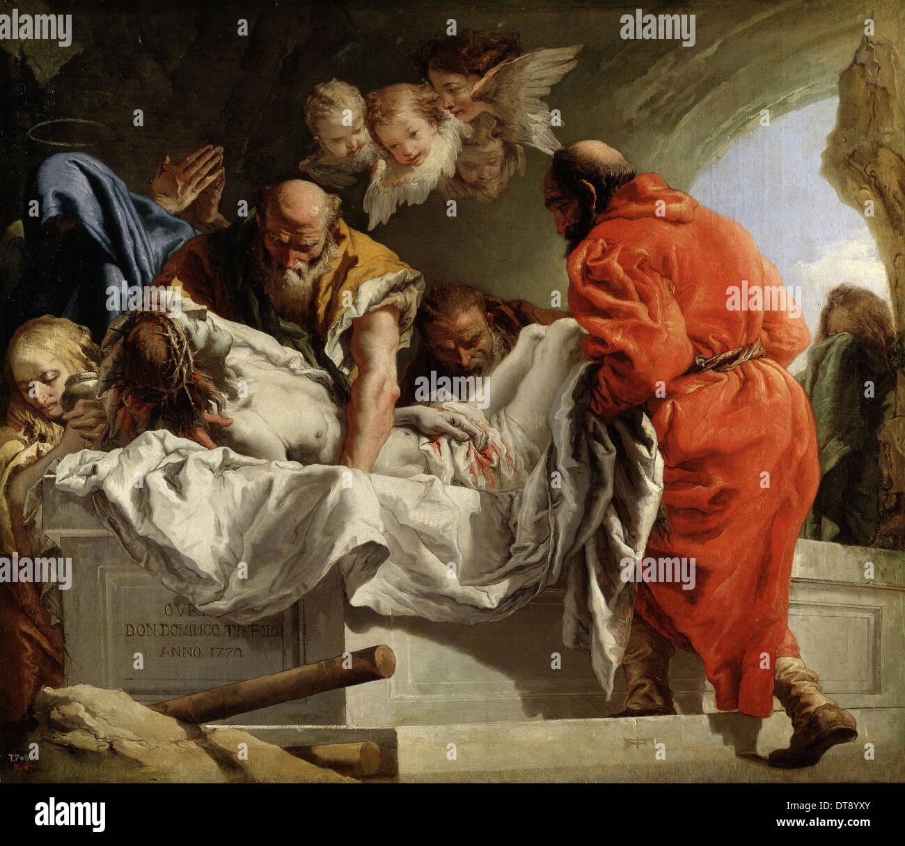 the entombment of christ 1772 artist tiepolo giandomenico