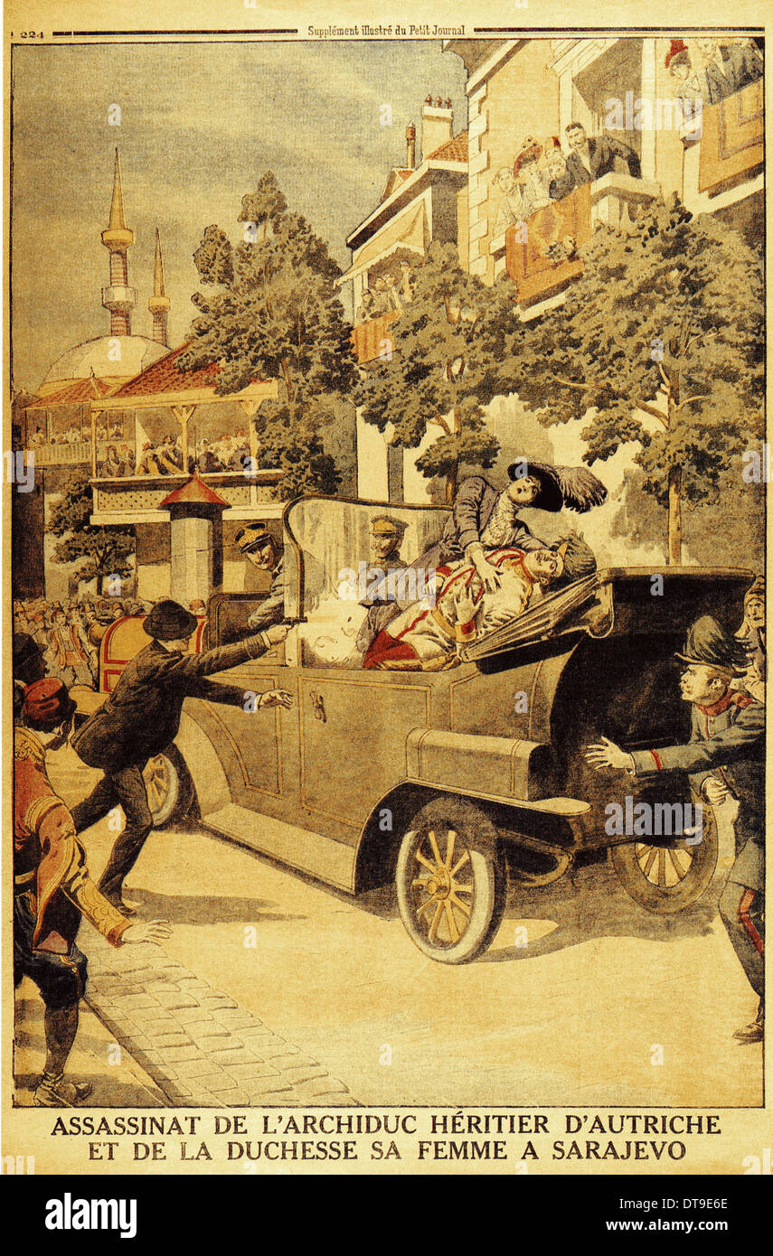 an analysis of death of archduke franz ferdinand in world war i There were three main causes leading up to world war 1, but it wasnt until june 28, 1914 the assassination of archduke franz ferdinand triggered world war 1 which began on july 28, 1914  the main causes leading of world war 1 were: the rise of nationalism, build-up of military might, and system .