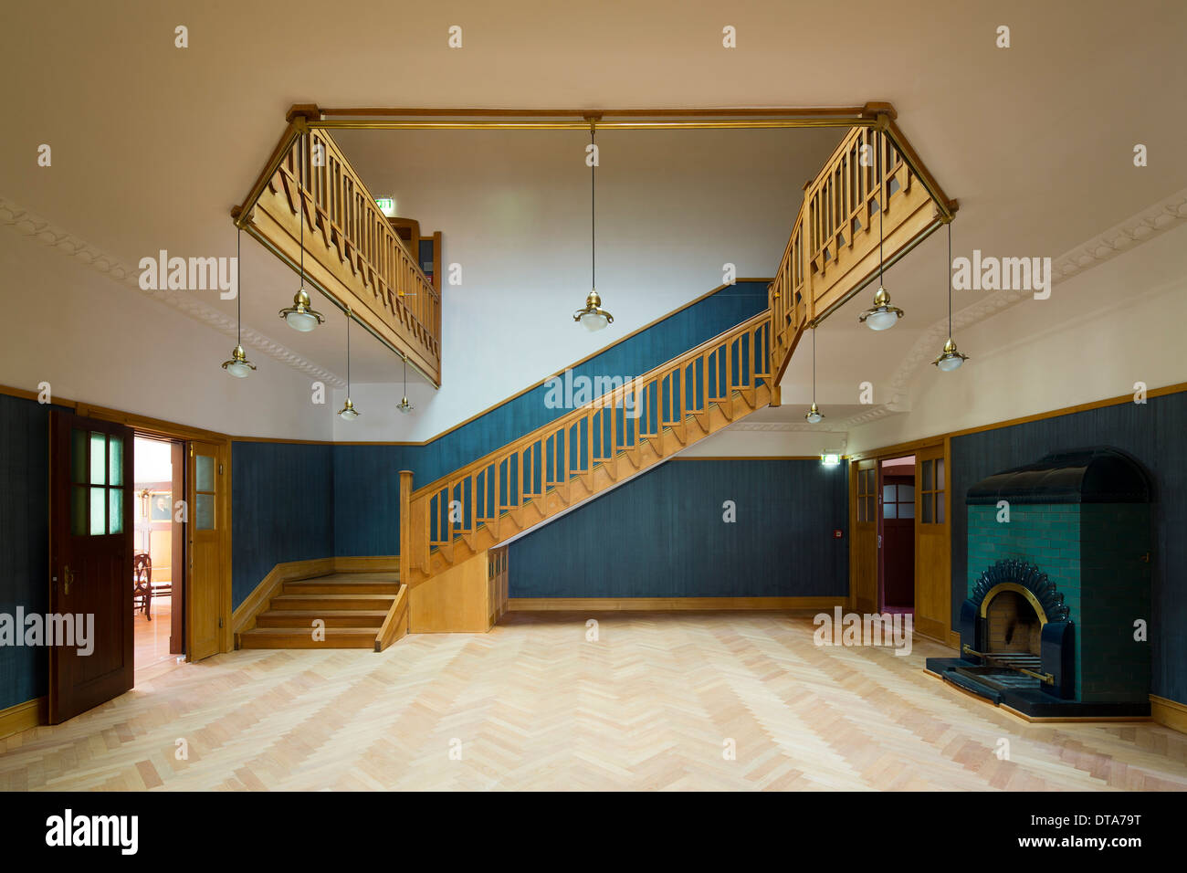 Villa treppenhaus modern  Chemnitz, Villa Esche Stock Photo, Royalty Free Image: 66608132 ...