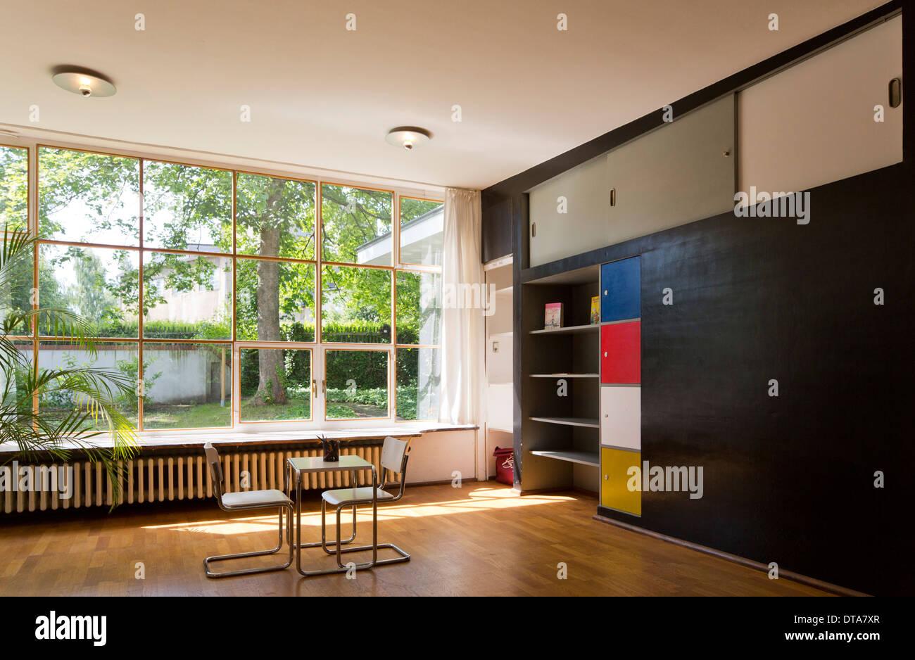 Löbau, Schminke-Villa, (Haus Schminke, Hans Scharoun 1930-1933 ...