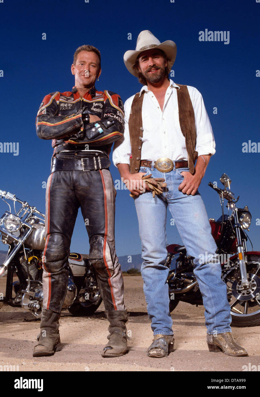 DON JOHNSON & MICKEY ROURKE HARLEY DAVIDSON AND THE MARLBORO MAN