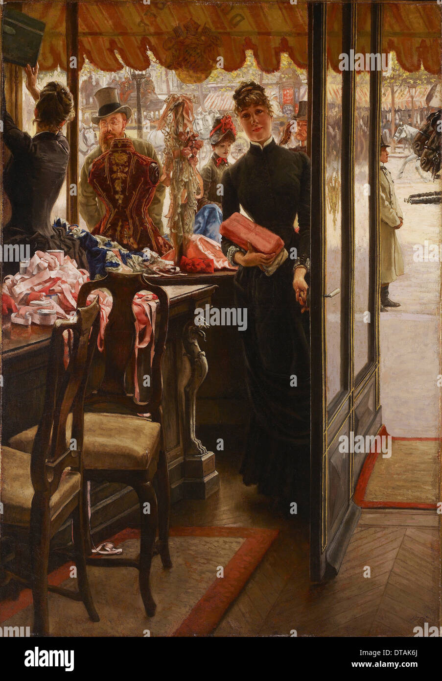 It's About Time: Summer Fans - James Jacques Joseph Tissot 1836–1902