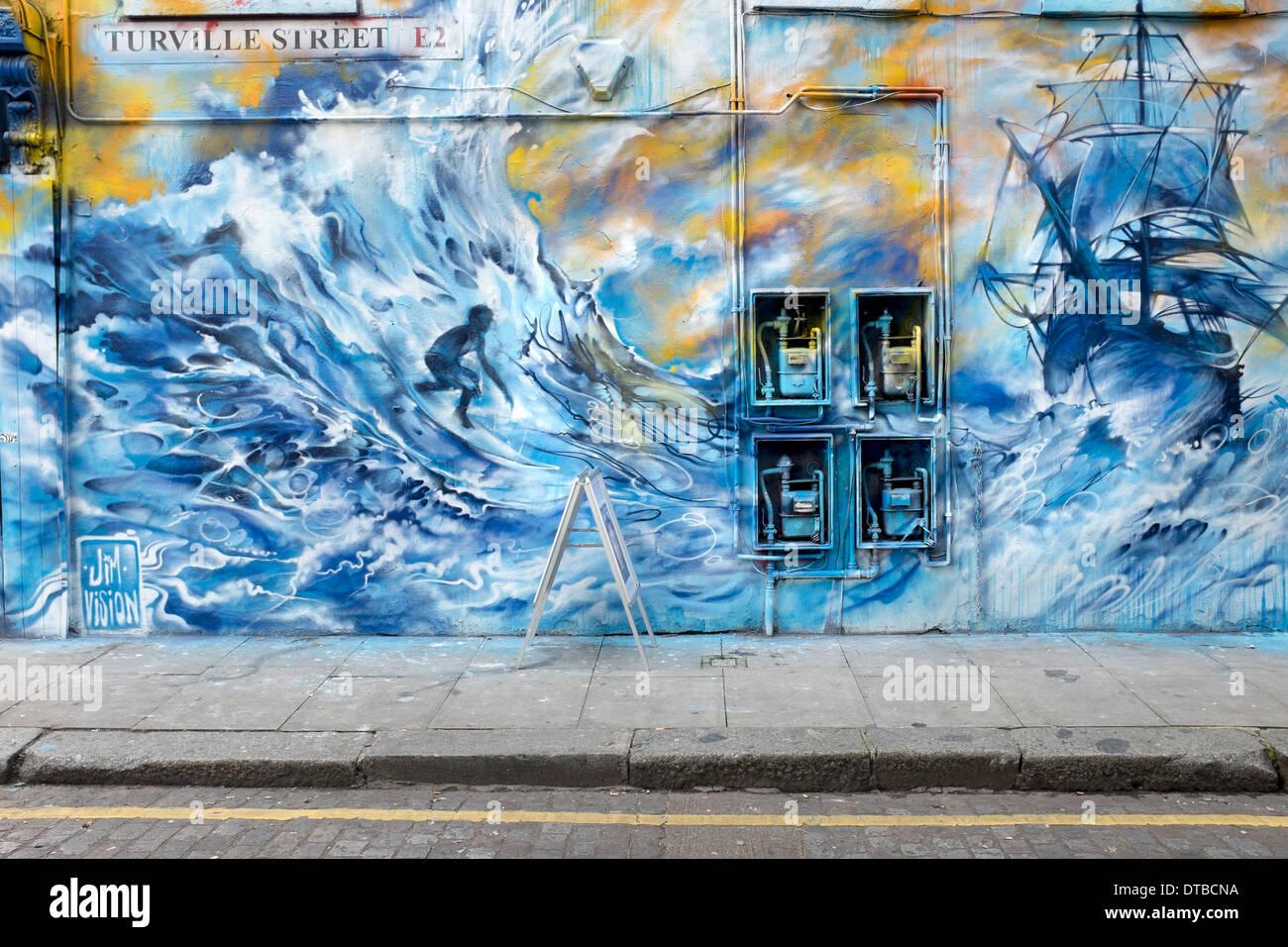 wall mural turville street e2 london stock photo royalty free stock photo wall mural turville street e2 london
