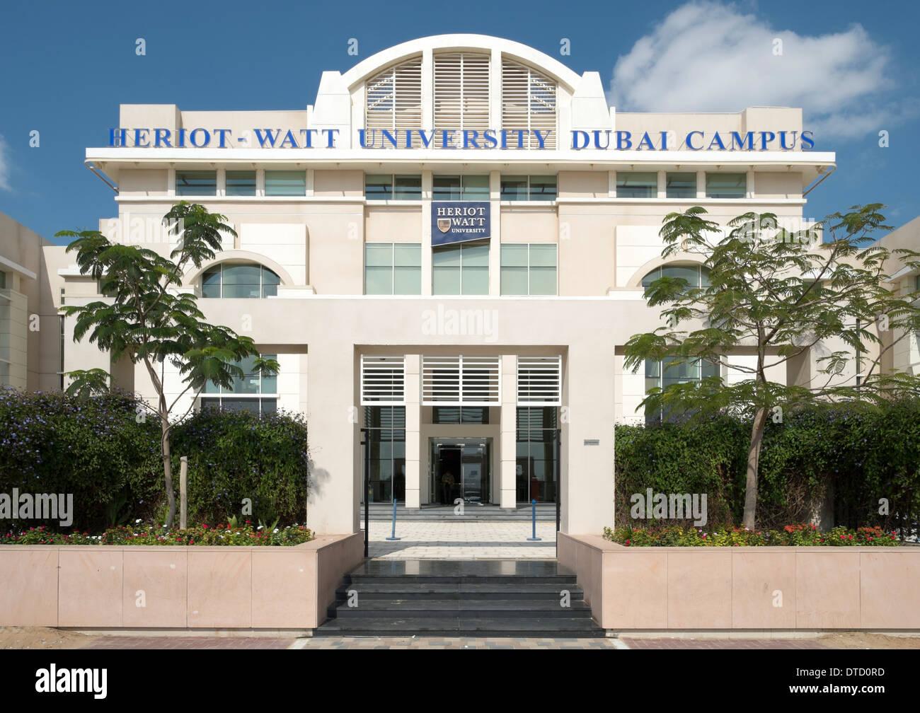 Heriot-Watt University Dubai Campus in Academic City United Arab ...