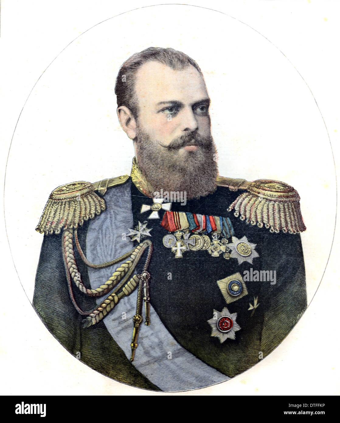 Барельеф царя александра ii