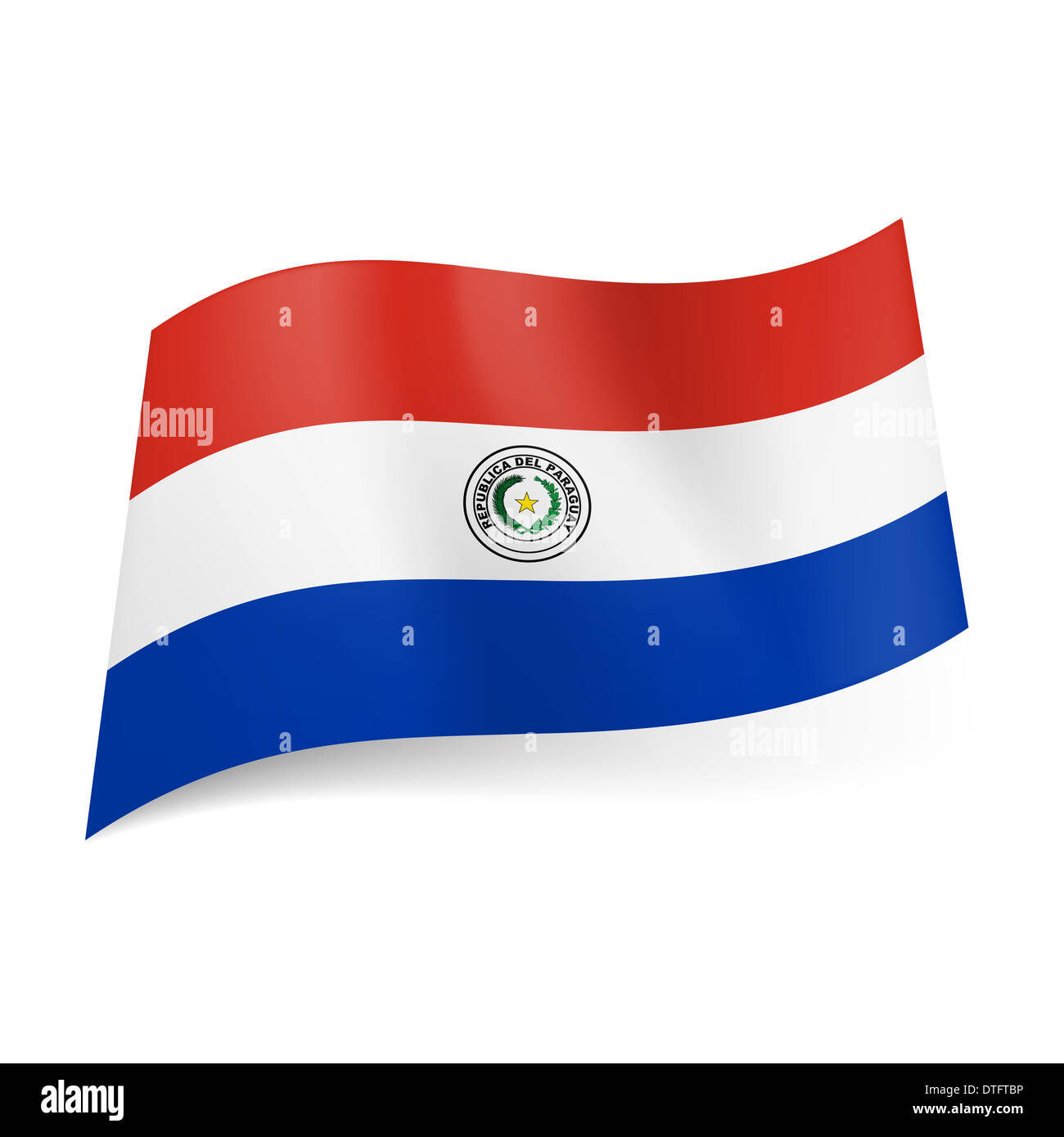 Paraguayan national flag version of 18421954 paraguay flag national flag of paraguay red white and blue horizontal stripes paraguay flags buycottarizona