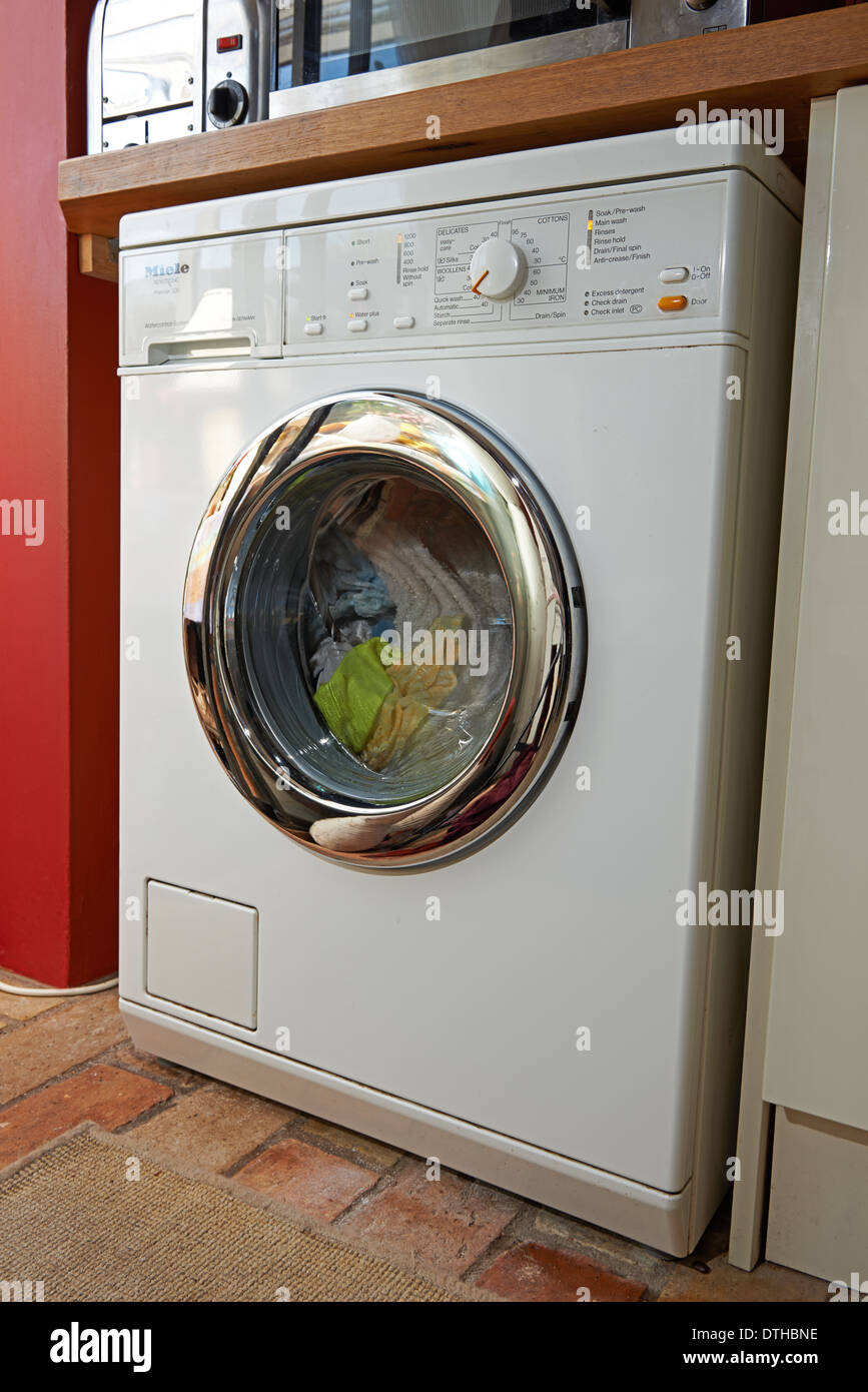 miele novotronic premier 500 washing machine stock photo 66765258 alamy. Black Bedroom Furniture Sets. Home Design Ideas