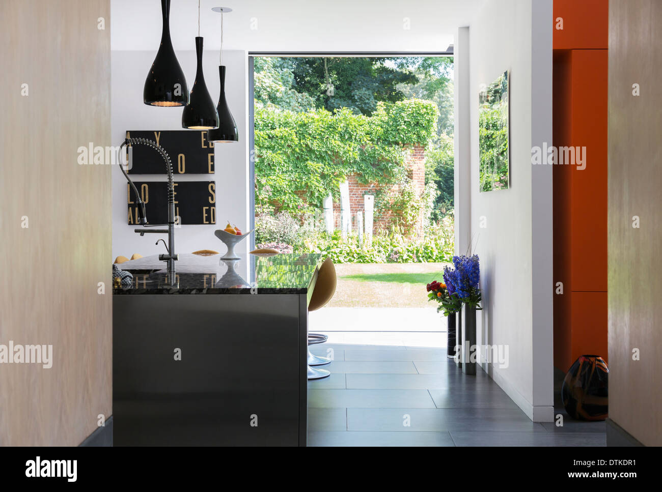 Kitchen Window Garden Through Window Garden Stock Photos Through Window Garden Stock