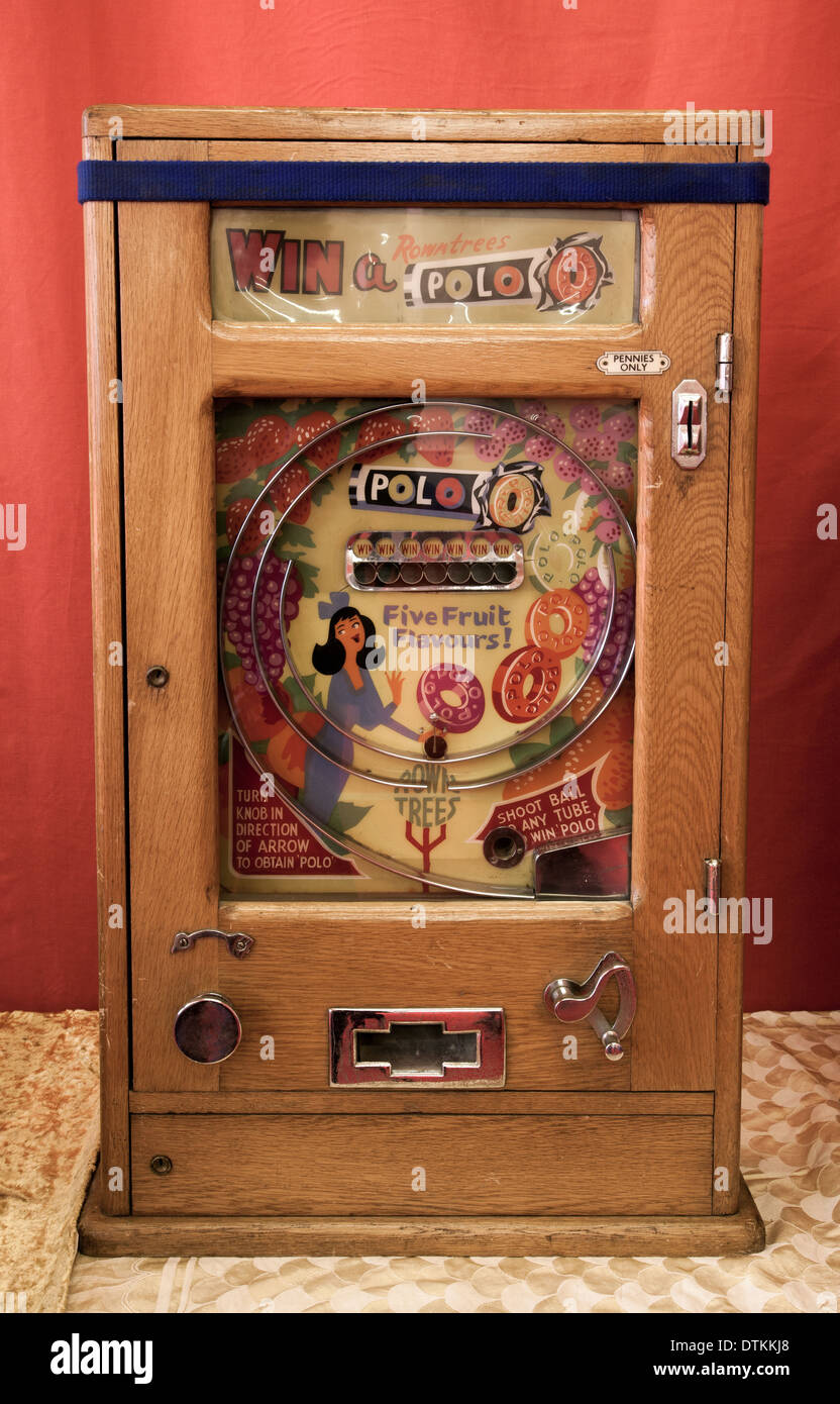 Bryans Vintage Allwin Arcade Slot Machine Allwin Polo