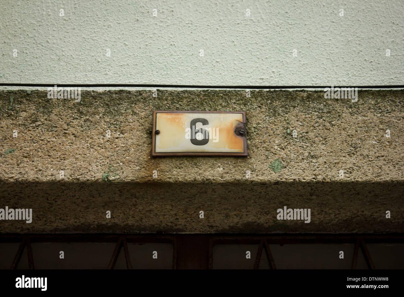 Door number 6 & Door number 6 Stock Photo Royalty Free Image: 66864148 - Alamy