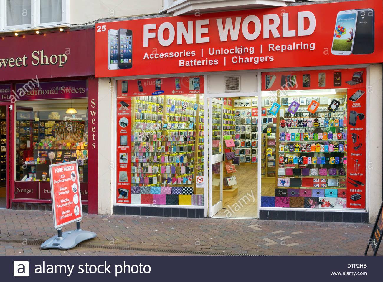 Fone world mobile phone shop weymouth dorset england for Shop on line mobili