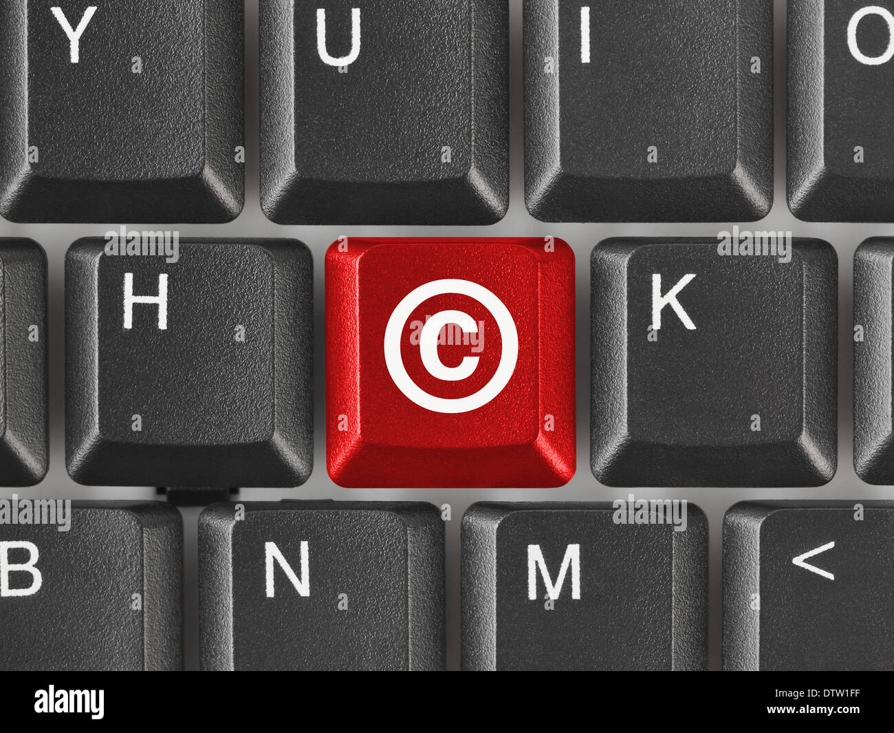 Computer keyboard with copyright symbol stock photo royalty free computer keyboard with copyright symbol biocorpaavc Gallery