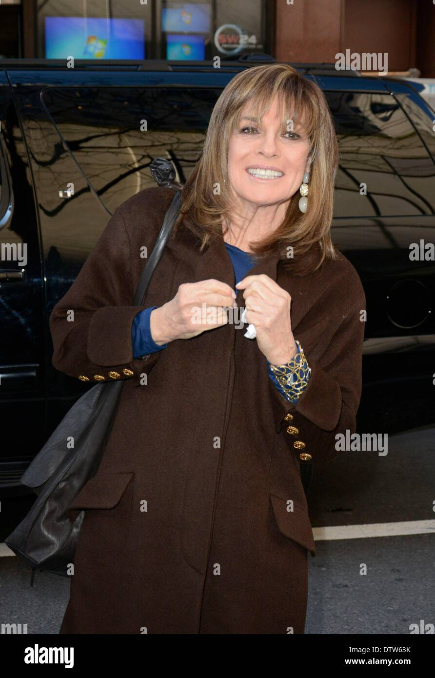 Linda Gray on the talk
