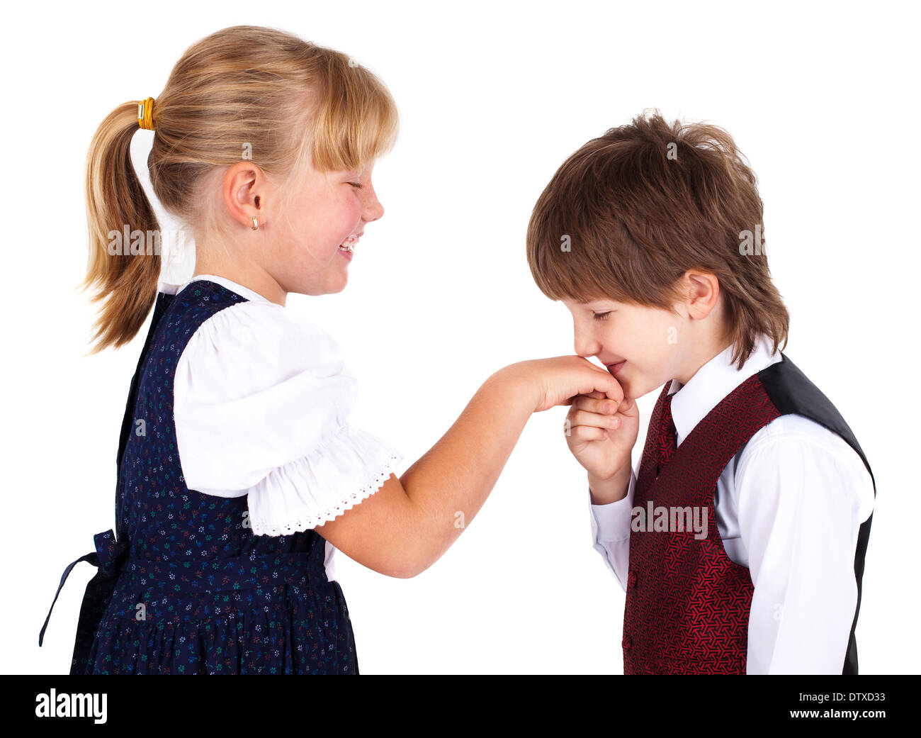 Little boy kissing hand stock photo 66963879 alamy little boy kissing hand altavistaventures Images
