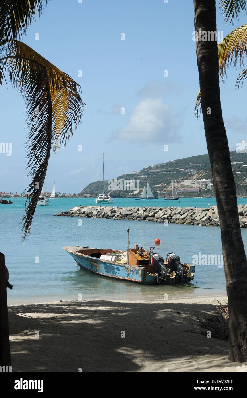 Fishing boat in virgin islands stock photo royalty free for Virgin islands fishing