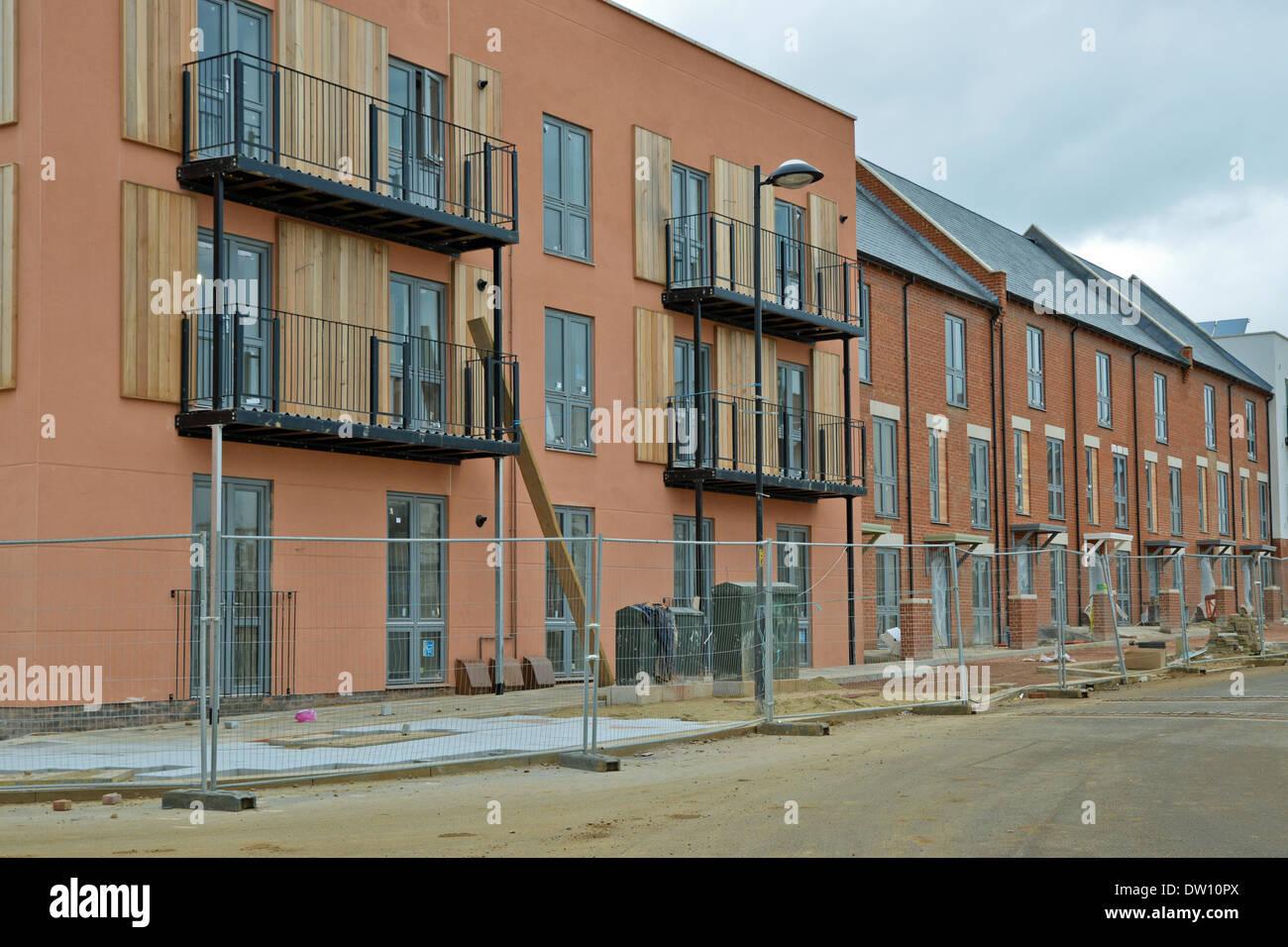 New Housing Development : New housing development upton park six fields northampton