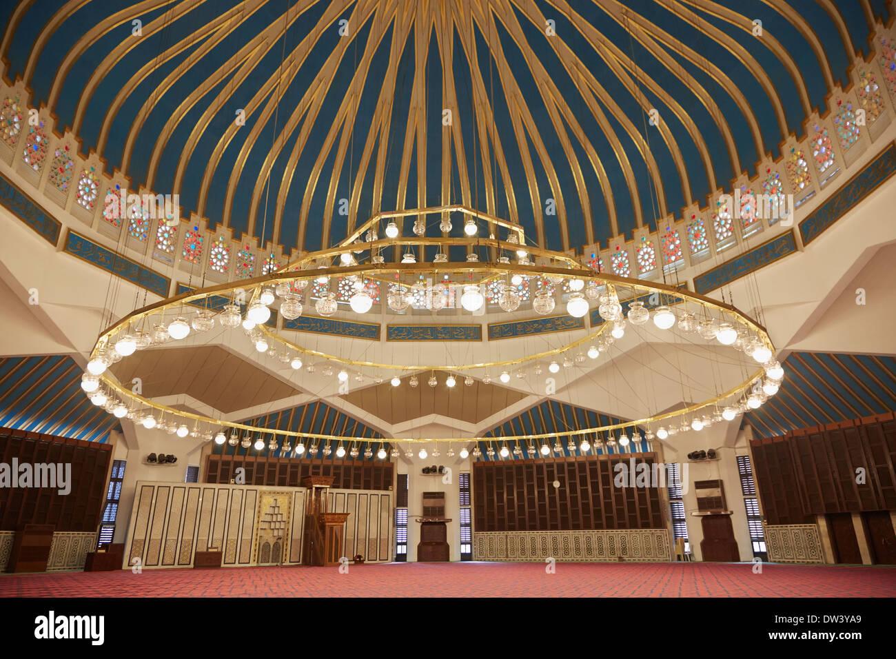 King Abdullah I Mosque Interior In Amman Jordan