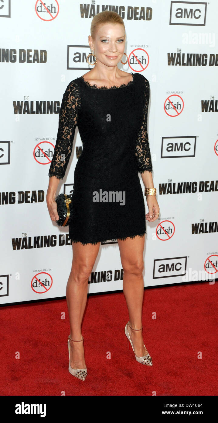 """Laurie Holden """"Andrea"""" Premiere Of AMC's """"The Walking Dead"""