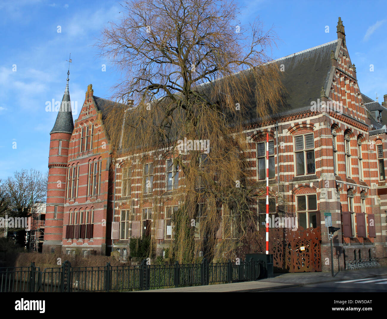 former natural history museum in groningen netherlands now paty of stock photo royalty free. Black Bedroom Furniture Sets. Home Design Ideas