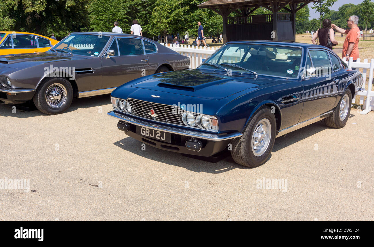 Aston Martin DBS V8 (1967-1972), Aston Martin Timeline, Centenary ...