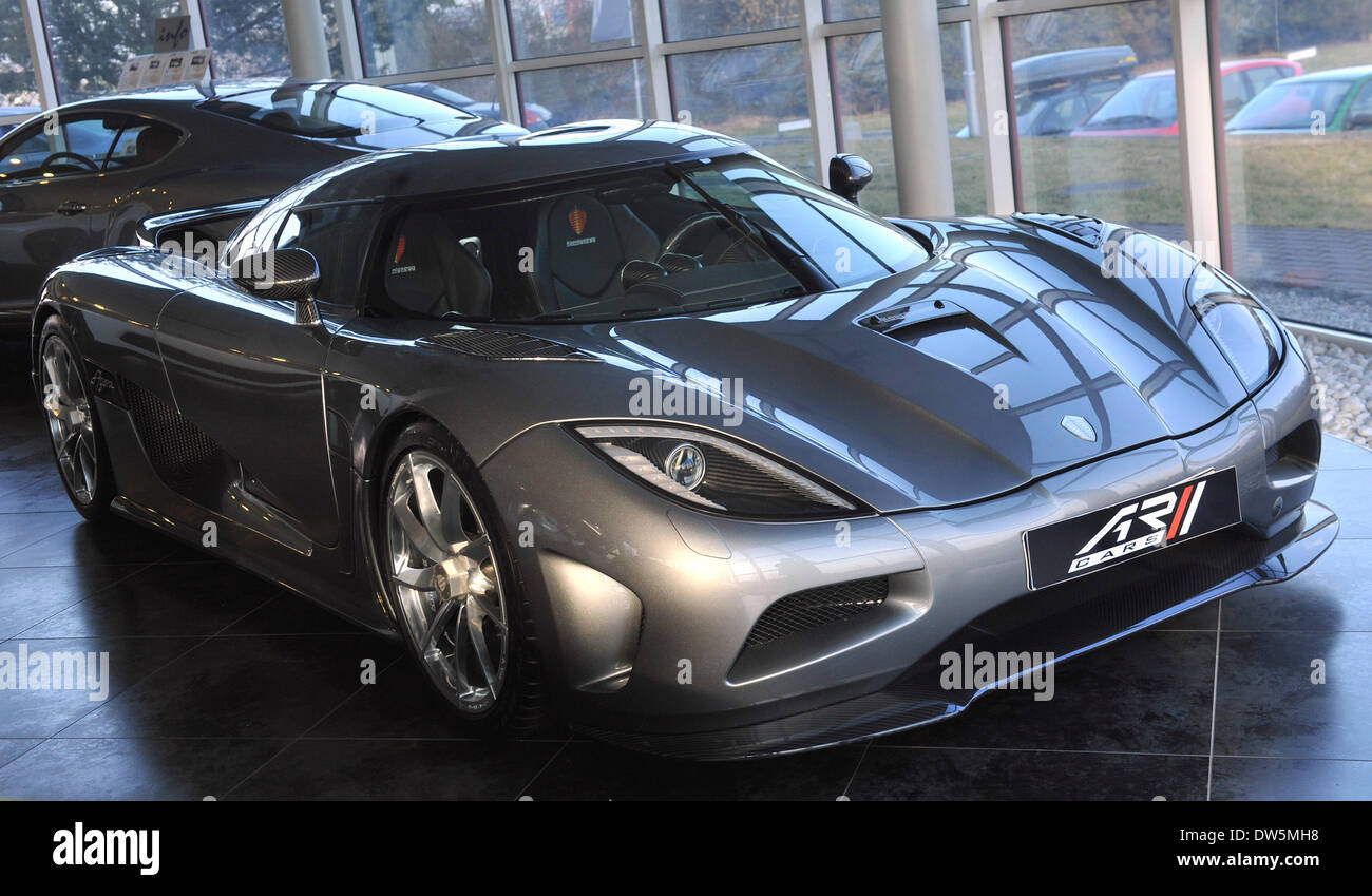 Koenigsegg Agera, A Two Seater Swedish Super Sports Car And Probably The Most  Expensive Car, Which Is Currently Sold In The Czech Republic, Is Exposed In  AR ...